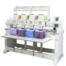 Hot sale 4 heads 2 heads cap embroidery machine