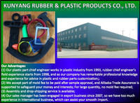 China Product Manufacturer Factory Company Custom Design Made To Order High Quality Rubber Plastic Parts