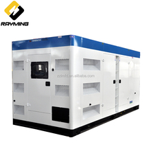 Used for Shopping mall 700kva silent power electrical diesel generators price