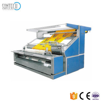 SUNTECH Textile Tension Control Knitted Fabric Inspection Machine