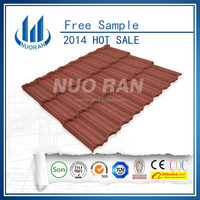 Light weight easy to Install pure color roofing tiles/roofing sheets popular in Africa