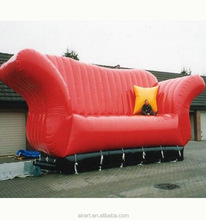 Custom inflatable lounger sofa/couch,inflatable sofa,giant inflatable sofa
