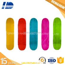 customized dye color maple skateboard deck longboard deck