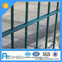 Made In Guangdong security welded twin wire garden fence panels