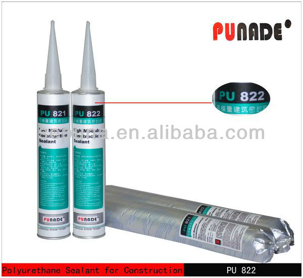 PU822 fiber cement corrugated roofing sheet high modulus polyurethane sealant for concrete