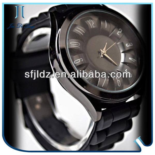 Colorful Sunflower Quartz Silicon CE ROHS Watches men