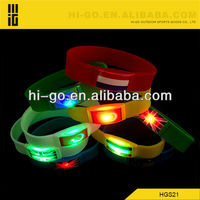 Cheap wedding gift for guest glowing wristband