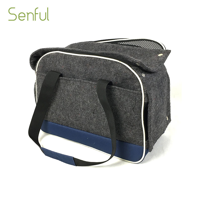 China supplier pattern dog carrier pet bags wholesale small dog carrier bag