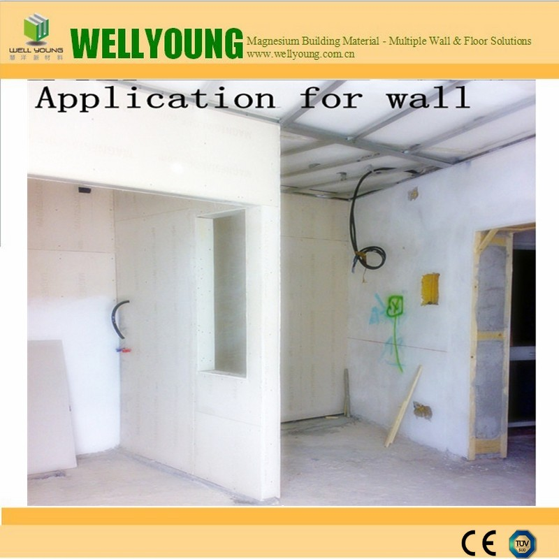 Water Resistant Mgo Tile Backer Board For Bathroom Wall