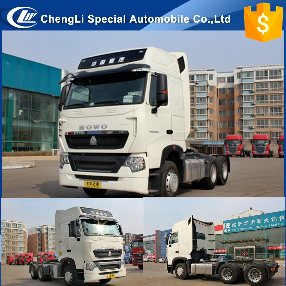 German technology Sinotruk HOWO tractor head 6x4 tractor truck 420hp 340hp 380hp 480hp Good market in Africa Cheap price sale