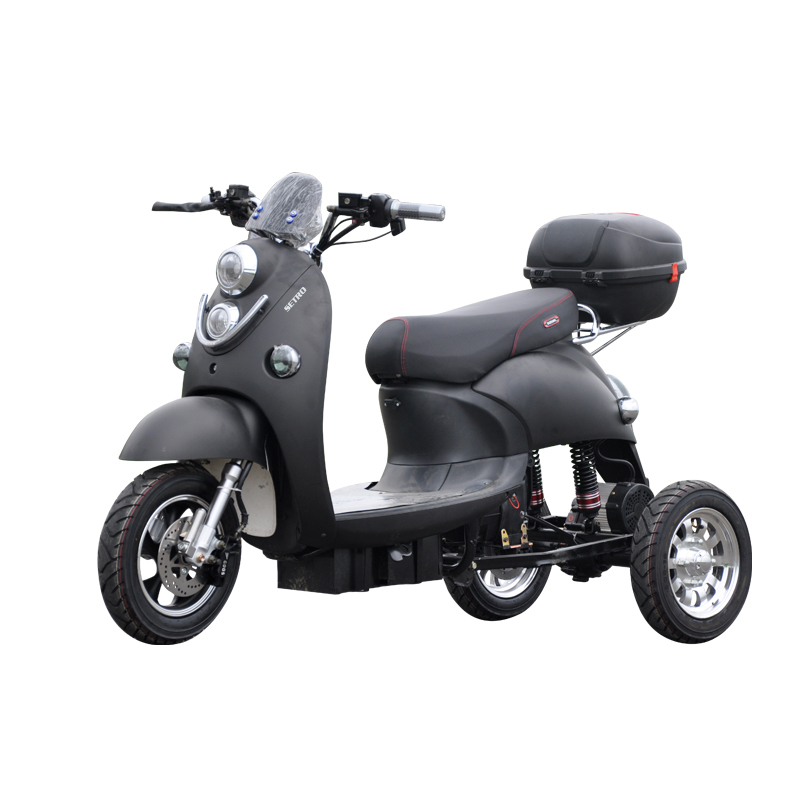 3 Wheels Adult 800W 2 Seat Germany Tricycle Electric <strong>Trike</strong> Scooter