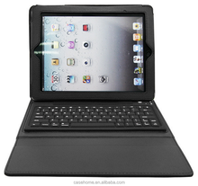 tablet cover for ipad air 2 leather case with bluetooth keyboard