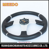 China manufacture professional pu/pvc/leather steering wheel
