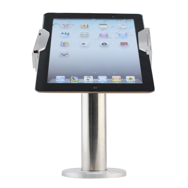 high quality metal lock ipad pillow android tablet pc security stand