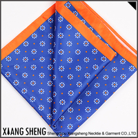 2016 Hot selling good quality Poly printed hanky handkerchief