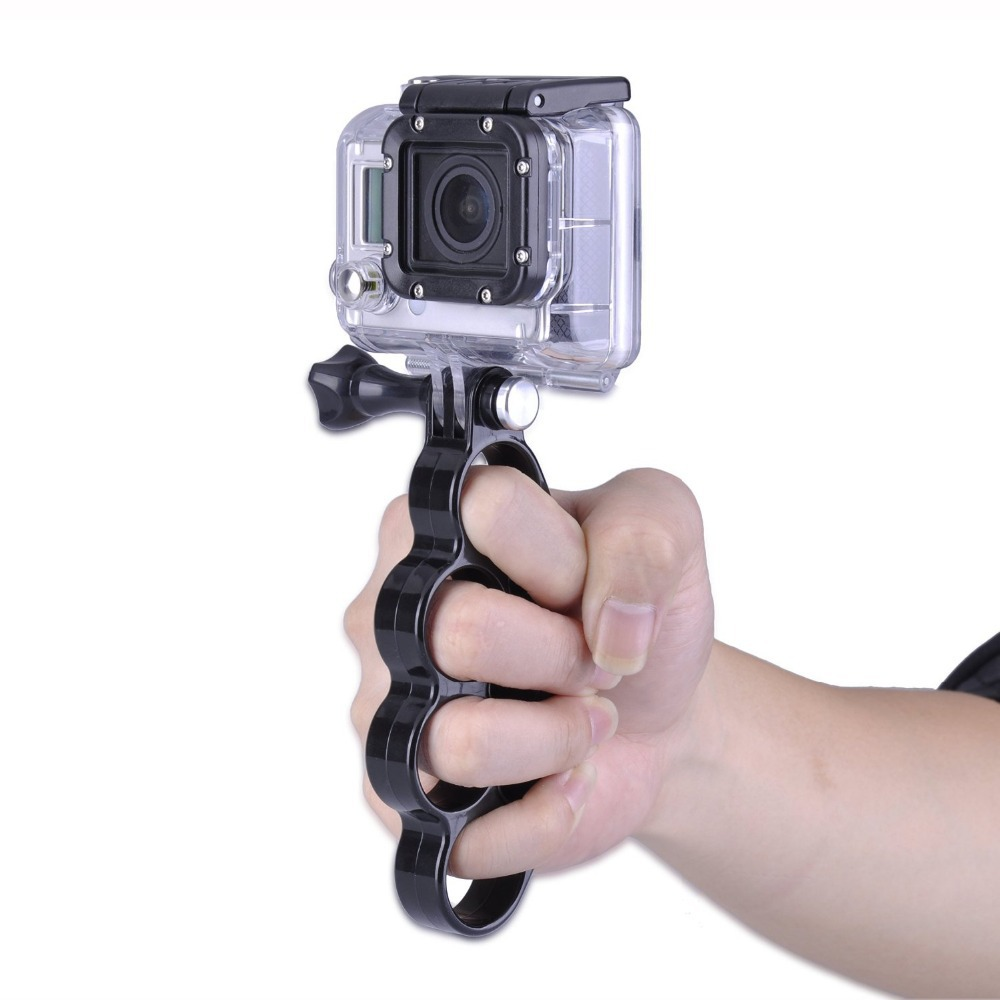 Buy Gopro Accessories Knuckles Mini Tripod Mount Holder Fingers Grip Floating Hand Bobber For Xiaomi Yi And Hero 2 3 Monopod Go Pro 4 Sj4000 Sj5000 Sj6000 In Cheap Price On
