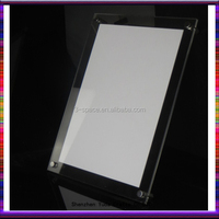 Anti-glare acrylic photo picture certificate frame 12