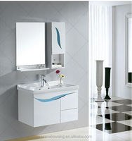 White bathroom wall cabinets knock down bathroom vanity cabinet