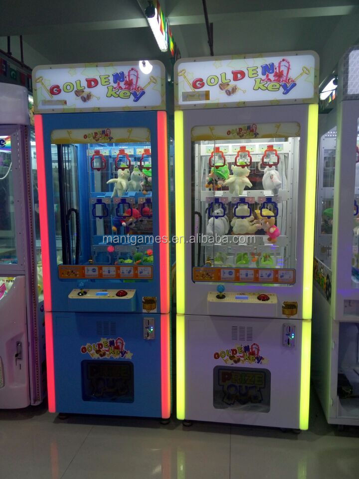 gift game machine for supermarket Crazy Toy 2 claw game machine