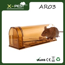 X-pest AR03 Live Animal Two-Door Mouse Cage Trap,humane mouse trap,mousetrap support OEM brand