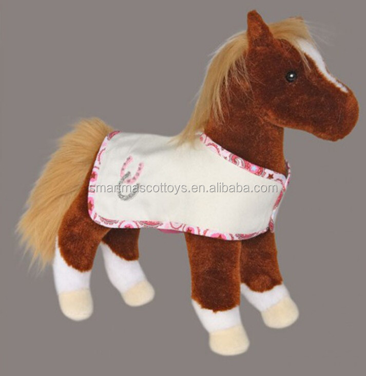 custom soft stuffed animal toys manufacturer plush horse