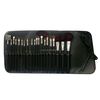 fashion professional high quality goat hair black colour handle make up cosmetic set