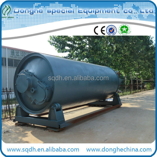 Hot sale waste rubber to fuel oil machine with latest technology and CE ISO