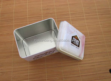 cheap tin can for food/ metal made pencil case/ cosmetic wine packaging tin can for foodes