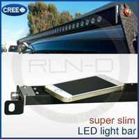 Good sell ultra thin 30 inch LED light bar for jeep 4x4 atv, cree 30 inch LED light bar single row