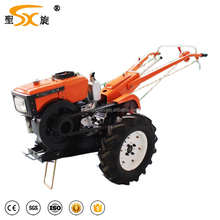 two wheels 8hp-20hp small hand walking tractor for hot sale