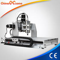 China Mini 3 Axis CNC 6040 Hobby Desktop CNC Router Engraver Machine for Wood, Acrylic, Brass, Aluminum Carving Milling