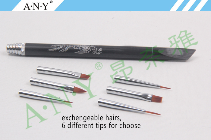 Any nails art picture painting pearl handle thin nail liner brush any nails art picture painting pearl handle thin nail liner brush nylon hair prinsesfo Image collections