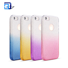 Fashion Luxury Protective Hybrid Beauty Crystal Rhinestone Sparkle Glitter PC+TPU Phone Case For iPhone 5 Case