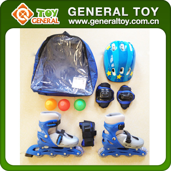 Wholesale Kids 4 Wheel Skates Shoes Roller Skate Shoes With Helmet
