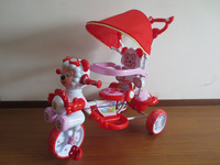 2016 New Luxury metal frame Children Tricycle with canopy Good sale baby tricycle new design baby trike new models