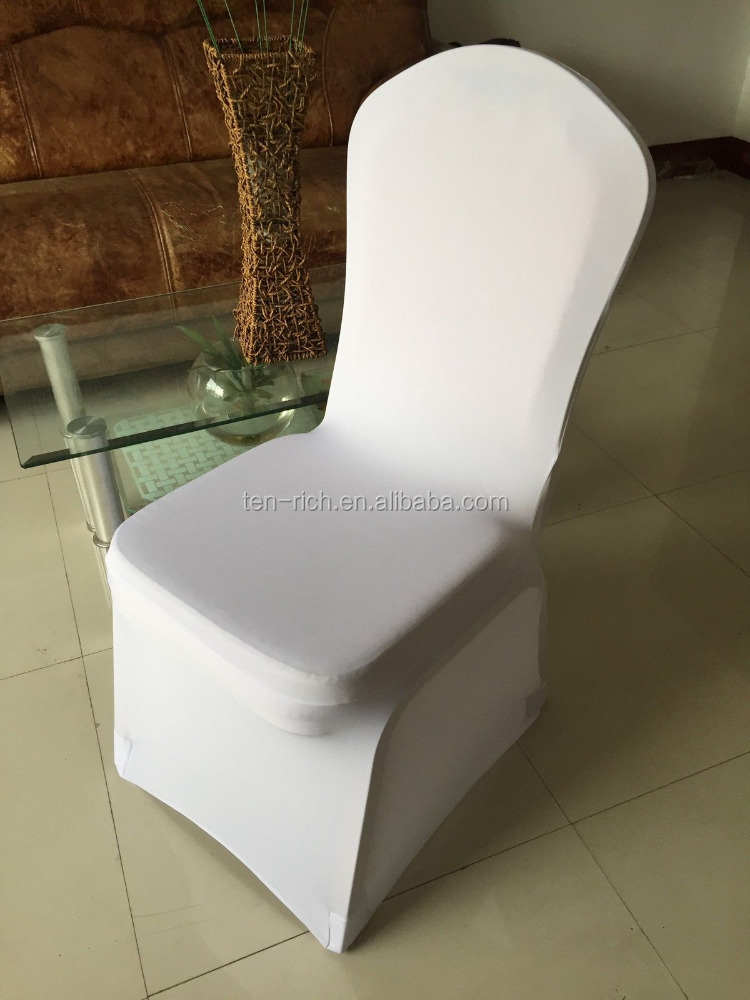 Hot selling direct factory made different styles chair cover and colors available custom wholesale table linens and chair covers