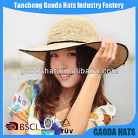 Girl straw hats,girls fashion straw sun hat,green straw hat