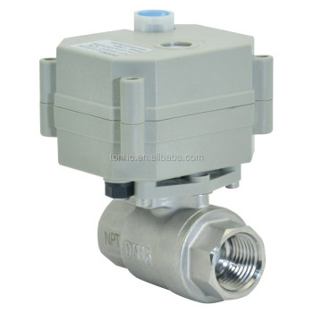 2 way 1/2' motorized' stainless steel 304 ball valve approved NSF61