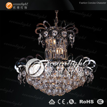 Lustres de cristal lights & lighting zhongshan chandelier OW589W