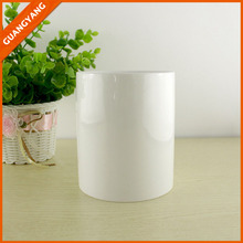 zibo factory coffee cup no handle bulk cheap plain white ceramic mug no handle for promotion gift