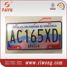 RFID high security license number plates