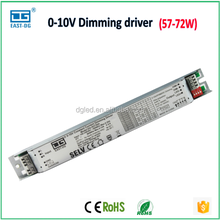 DG-R2780A 0-10v / PWM dimming led driver with CE 58W 60W 65W 70W 72W 1300MA 1500MA 1800MA for led light