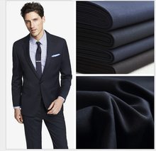 yaoguang textile polyester viscose spandex blend cloth material fabric for suit and uniform