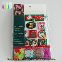 Lovely snowman diy colorful ribbons paper magic group greeting handmade cards pictures