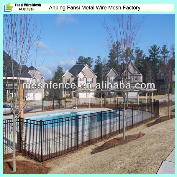 Best price galvanised tube Double Loop Ornamental Fence