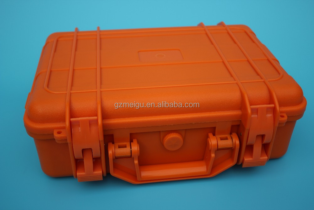 waterproof hard ABS plastic carry case/tool box with EVA foam insert No_360004676