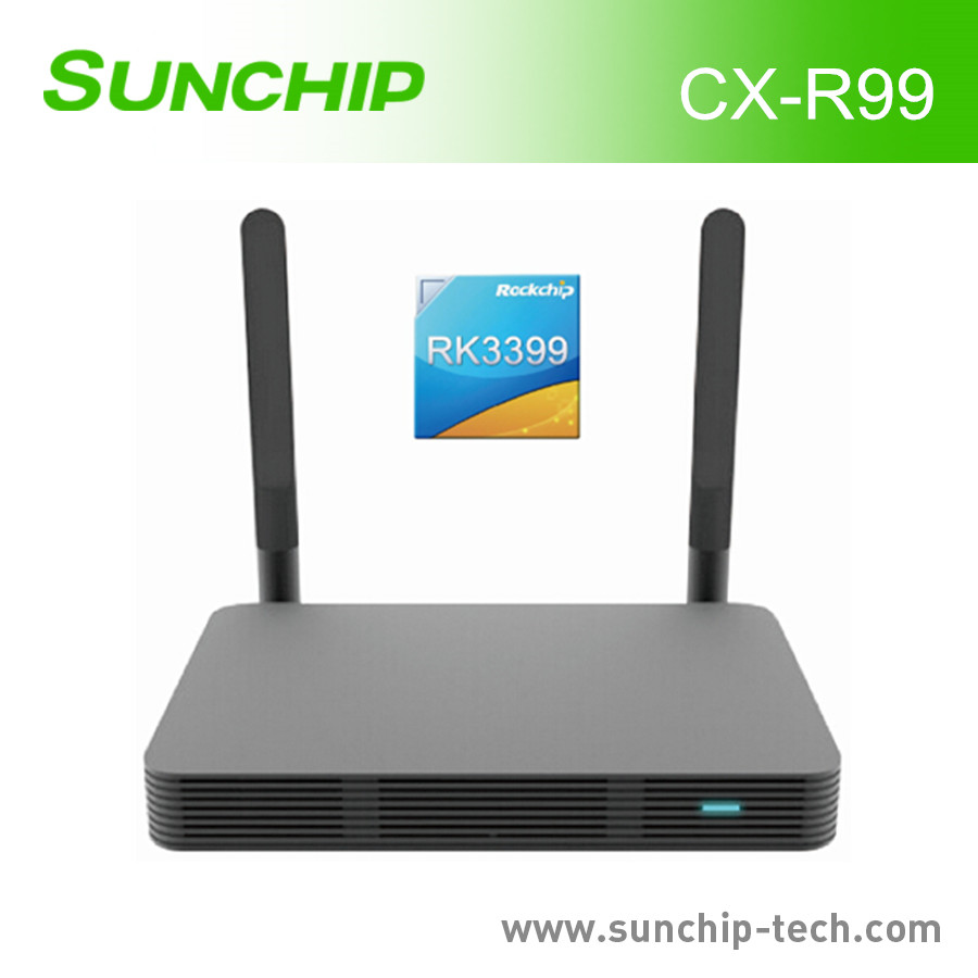 NEWEST digital box tv 4G 32G Android6.0 Rockchip RK3399 BT4.0 OTA media box for tv double Wifi Tv Box