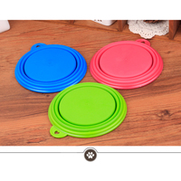 Dog Cat Silicone Collapsible Feeding Water Feeder Bowl Pet Supplies Travel Dish