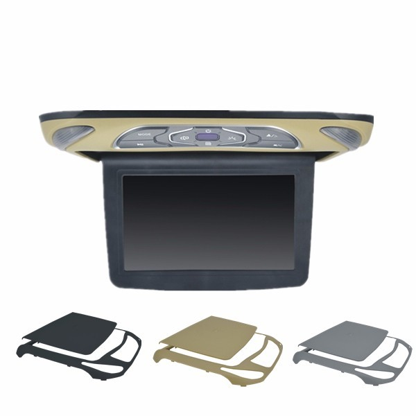 13.3 inch Flip down Multi-media Display with High Resolution & 320 degree Swivel