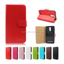 Popular Style Mobile Phone Leather Case for Blu Advance 4.0 A270a Flip Case Cover